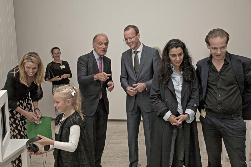 De Nederlandsche Bank opening expositie